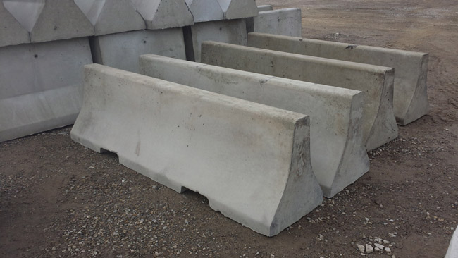 Altamix Concrete Jersey Barriers
